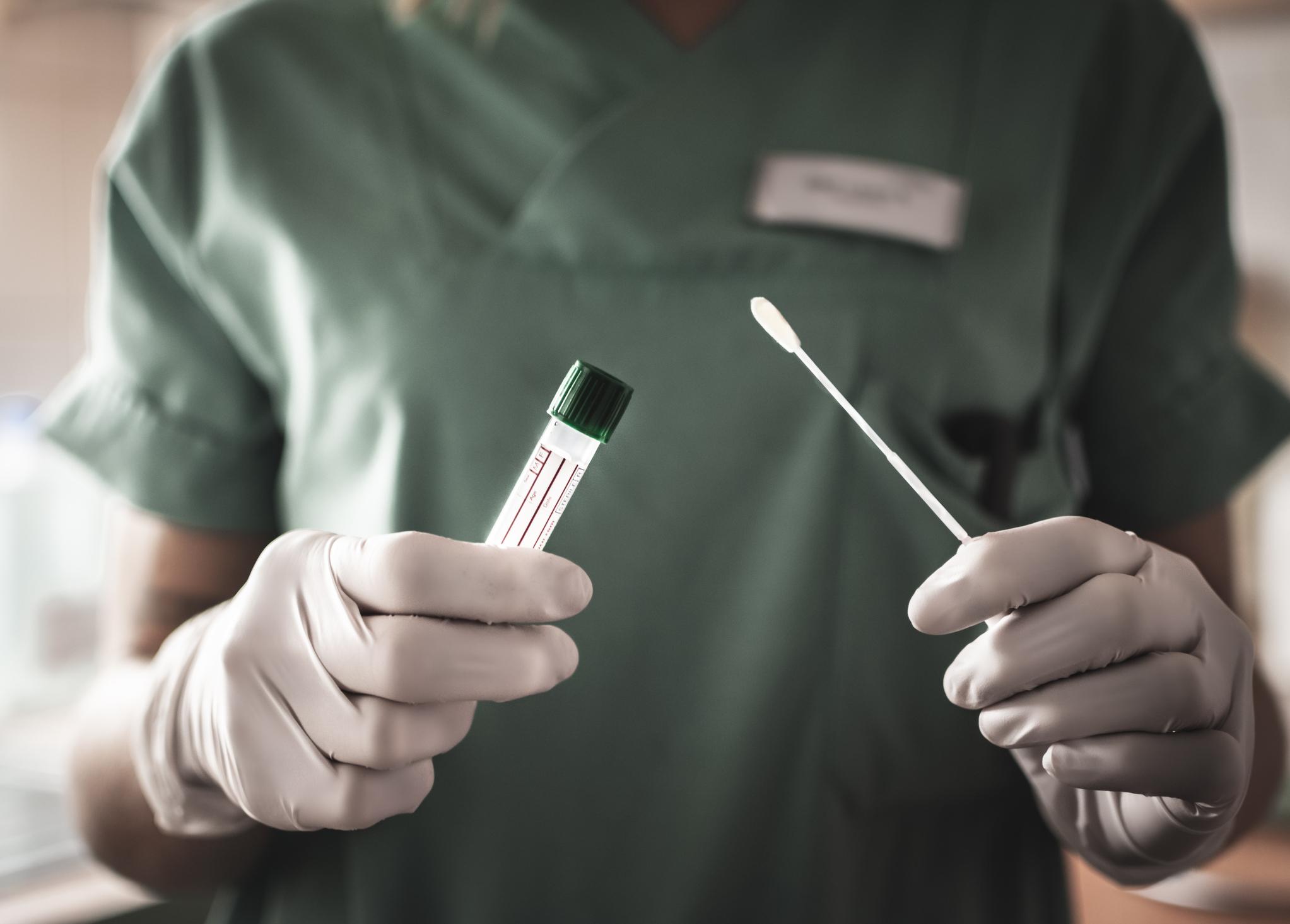 PCR-test av covid-19